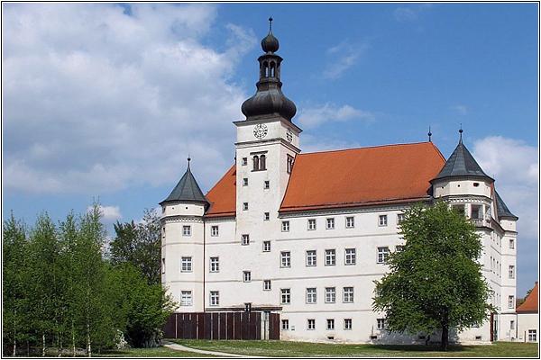 Замок Хартхайм в Австрии