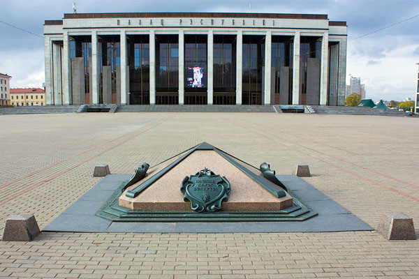 Нулевой километр Минска — начало белорусских дорог