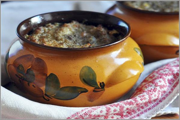 Картофельная бабка — традиционное блюдо белорусской национальной кухни