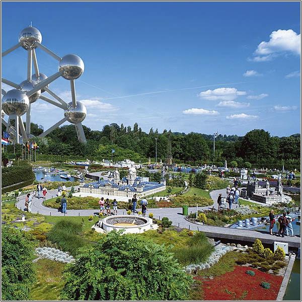 Парк Мини-Европа рядом с Атомиумом