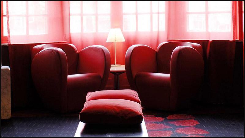 Интерьер Monty Small Design Hotel
