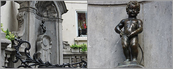 Маленький Жюльен в Брюсселе