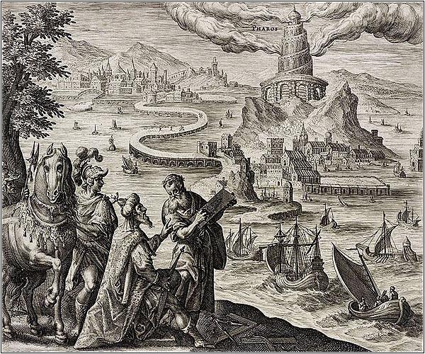 Как выглядел Александрийский маяк?