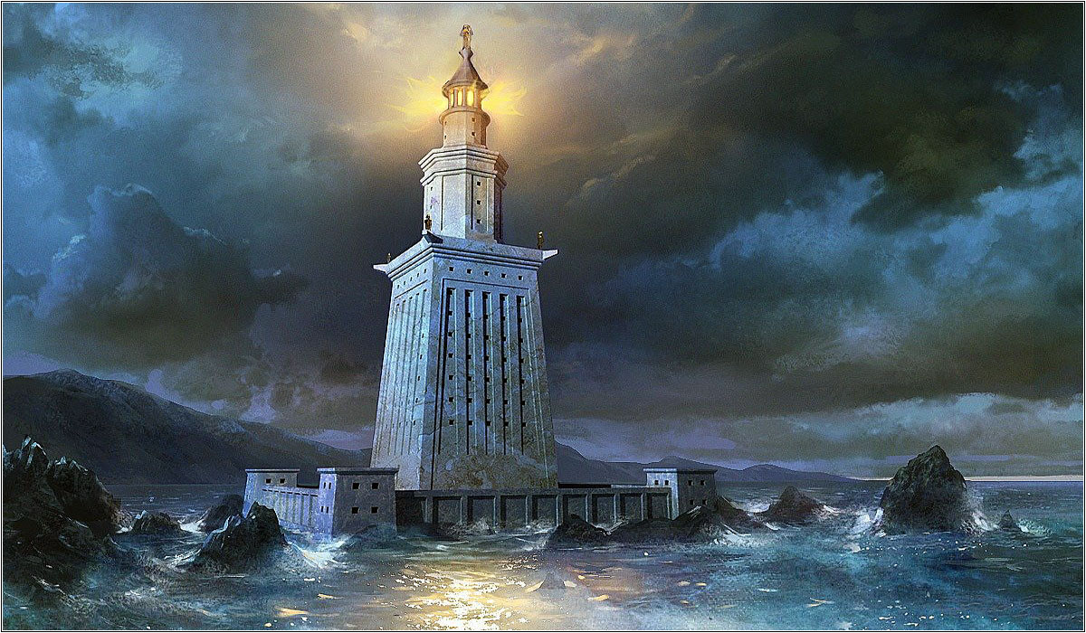 Древний египетский маяк