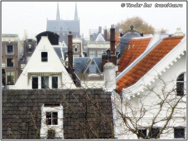 Амстердам. Красивый вид из окна.