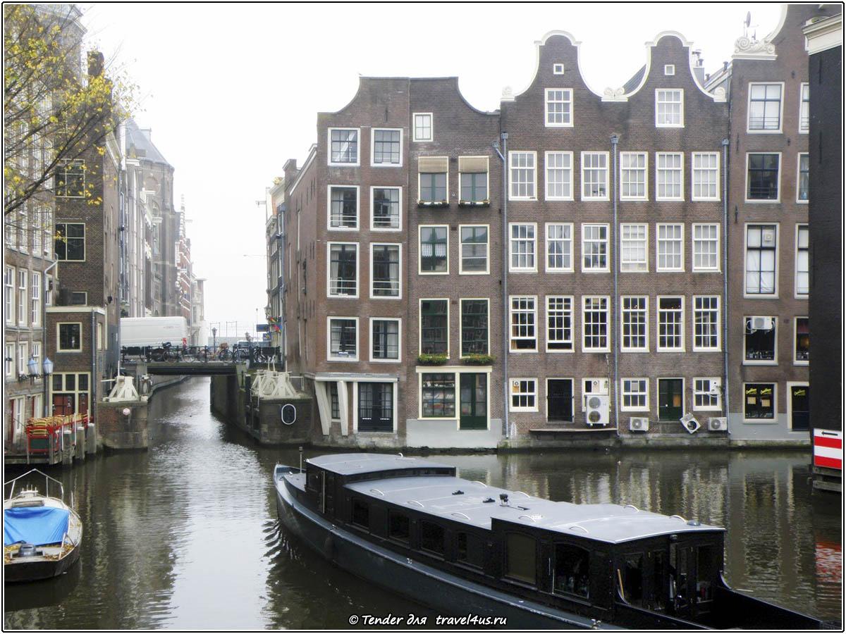 Прогулка по Амстердаму на лодке