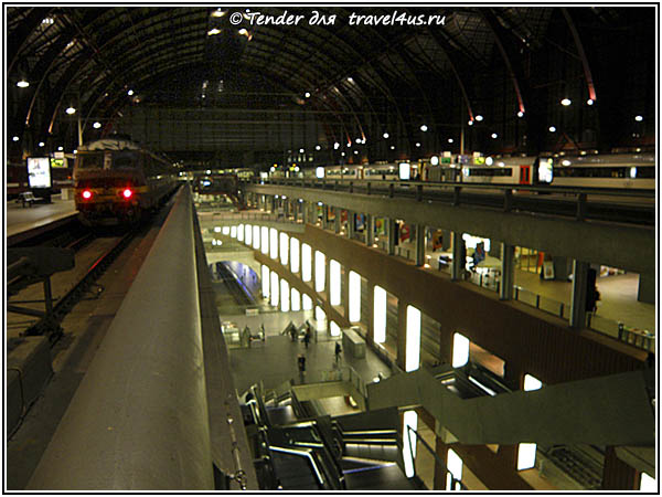 Бельгия. Антверпен. Вокзал.