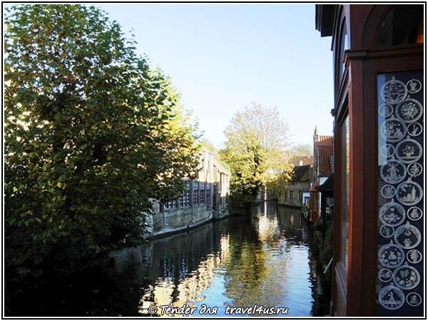 Бельгия. Брюгге. Город на воде.