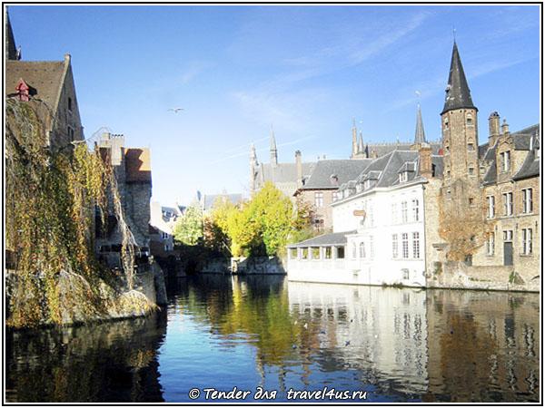 Бельгия. Великолепный Брюгге.