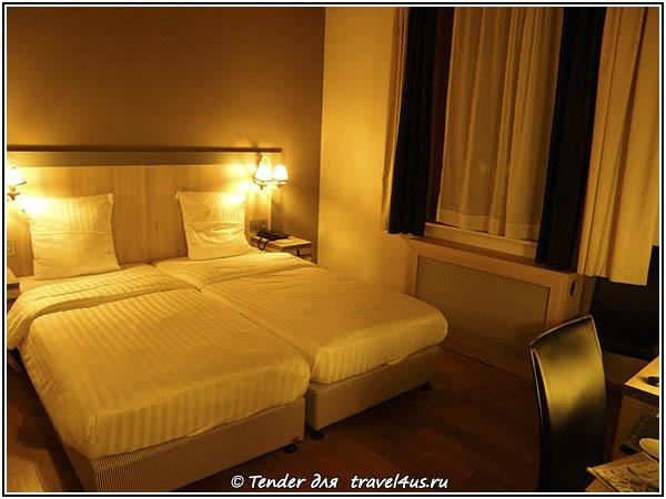 Отель в Брюгге.