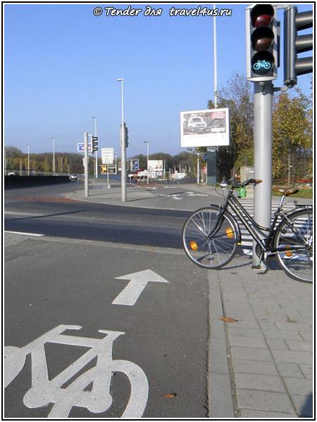 Путешествие на велосипеде по Брюсселю