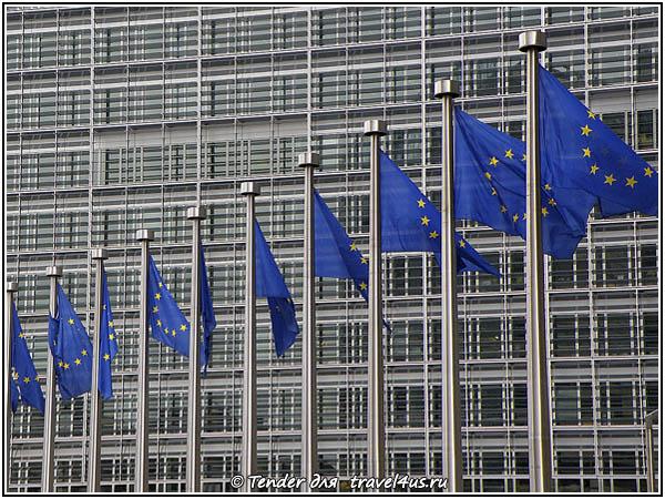 Квартал со зданиями общеевропейских институтов