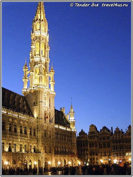 Бельгия. Брюссель. Ратуша.