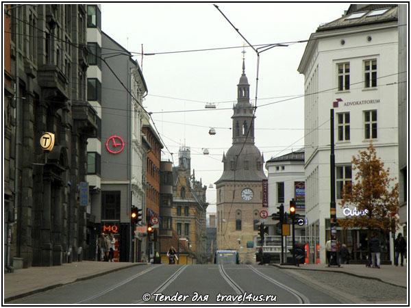 Норвегия. Осло. Вперед по трамвайным путям!