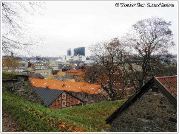 Норвегия. Осло. Виды города