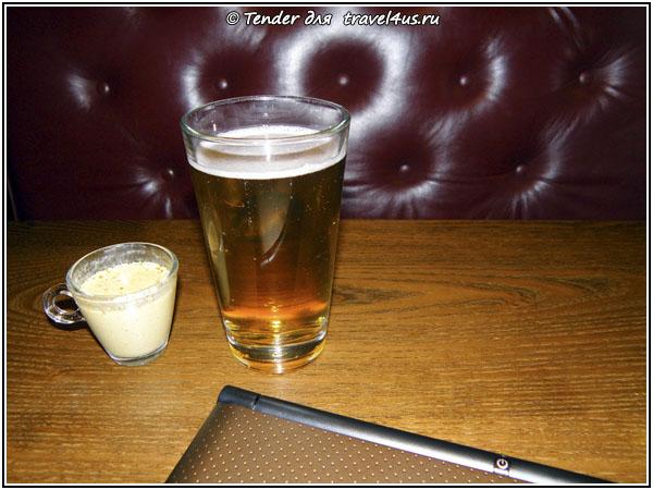 Швеция, Стокгольм. Шведский обед и пиво.