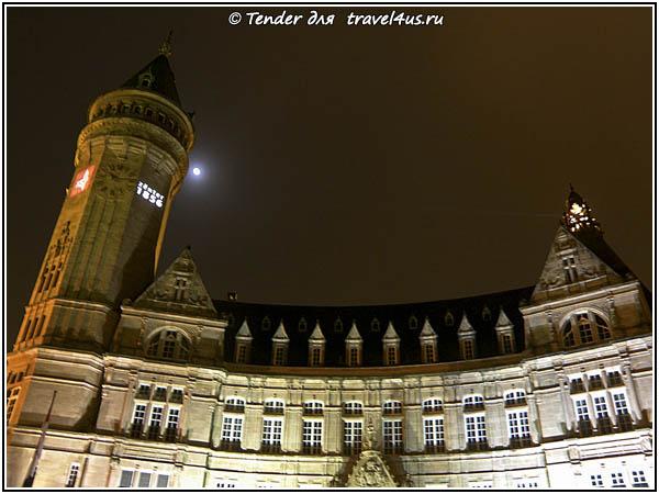Люксембург. Замок сбербанка.