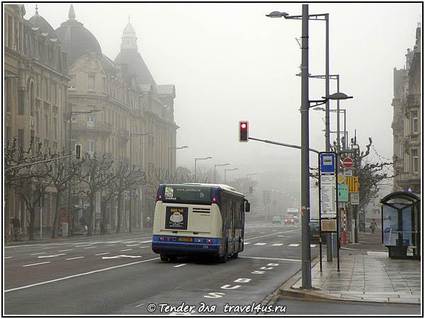 Автобус в Люксембурге
