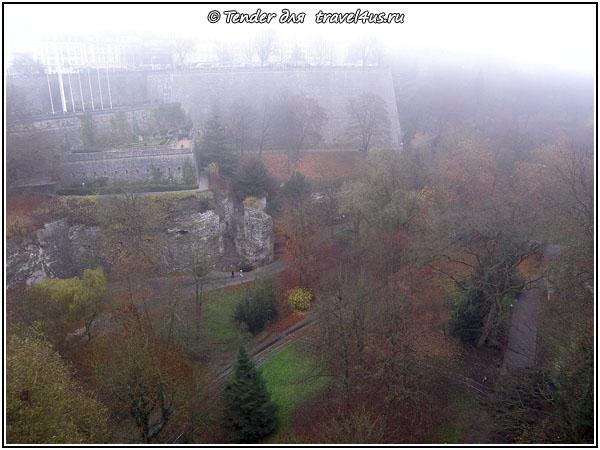 Люксембург. Нижний город.