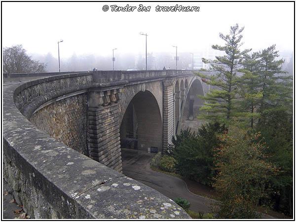 На мосту Люксембурге