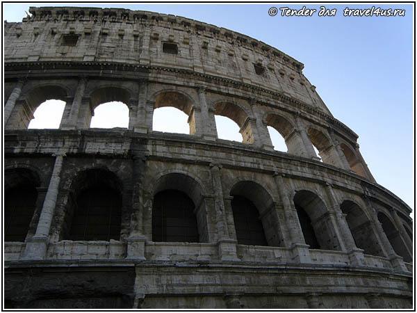 Италия. Рим. Колизей.
