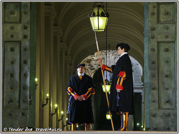 Швейцарские (папские) гвардейцы