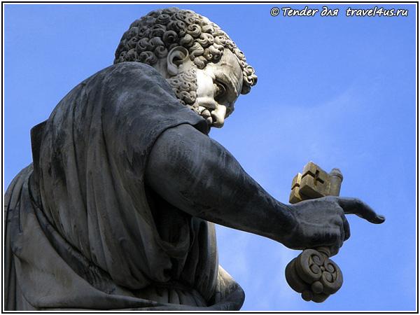 Апостол Петр с ключами от рая