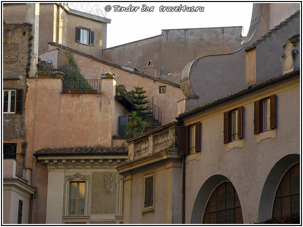 На крышах Рима