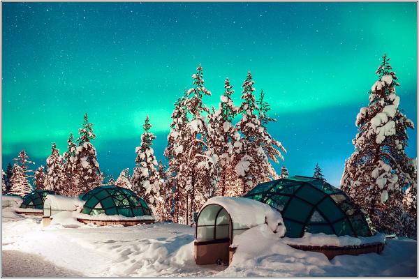 Отель-иглу в Финляндии