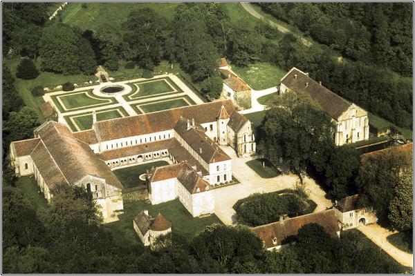 Цистерцианское аббатство Фонтене