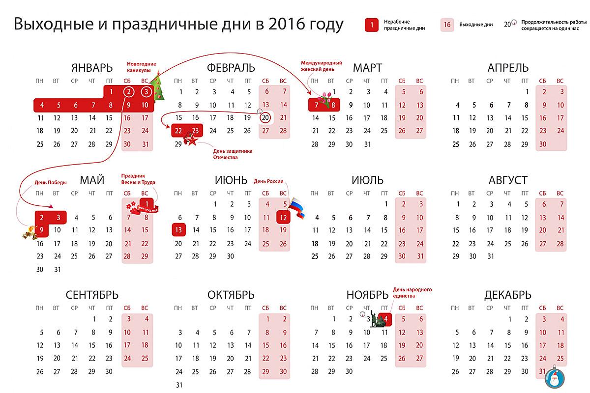 Красивый календарь марта