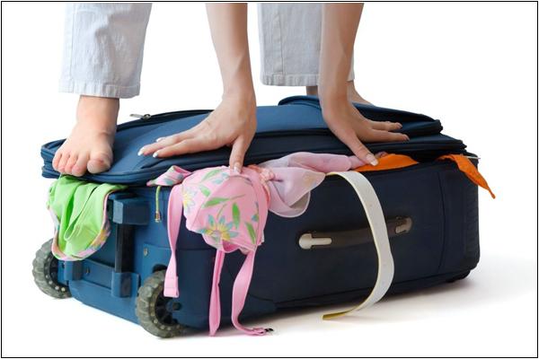 Как практичнее собрать вещи в чемодан?