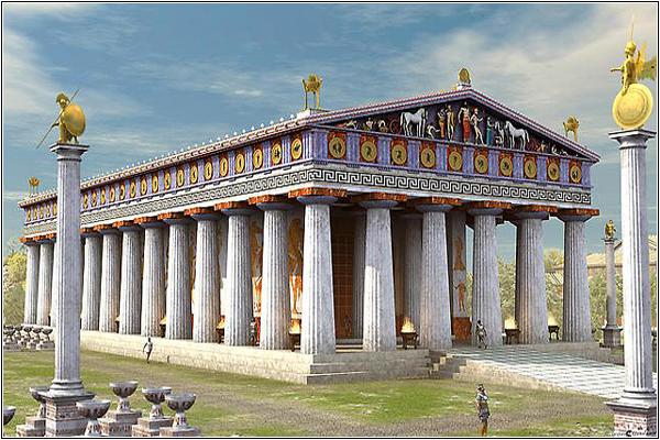 Дом Зевса в Олимпии