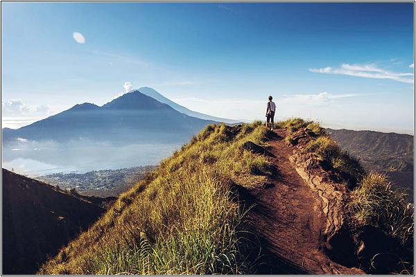 Вулкан Гунунг-Батур на Бали