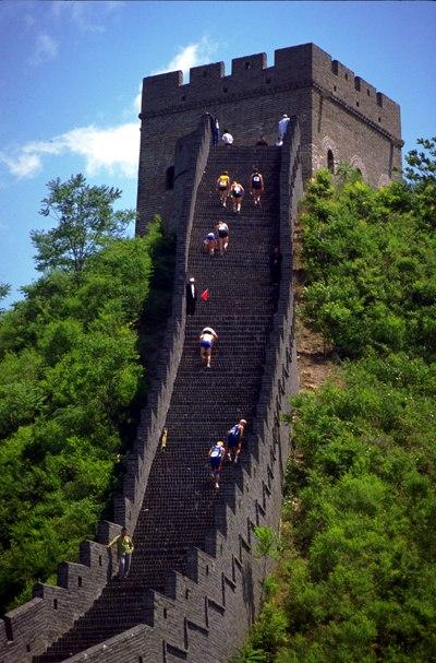 Марафон Великая Китайская Стена