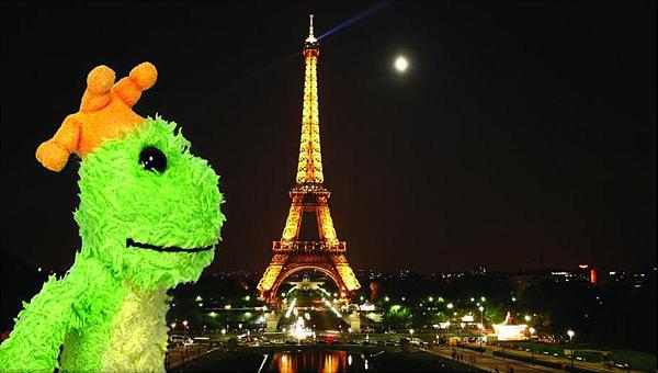 Мистер Лягушка в Париже