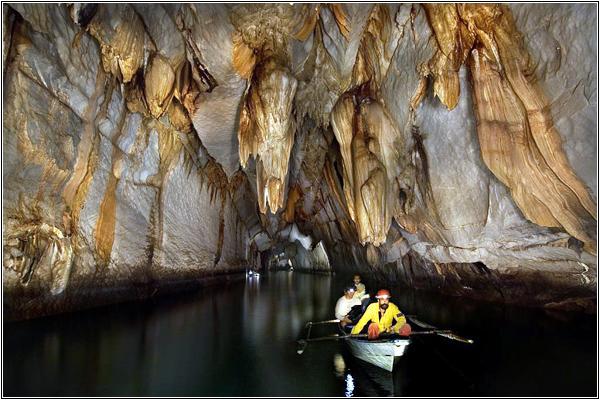 Филиппинская подземная река Пуэрто-Принсеса