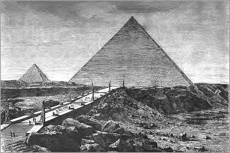 Пирамида Хеопса — одно из чудес света