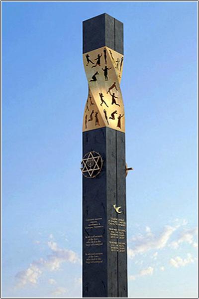 Свеча памяти в Иерусалиме