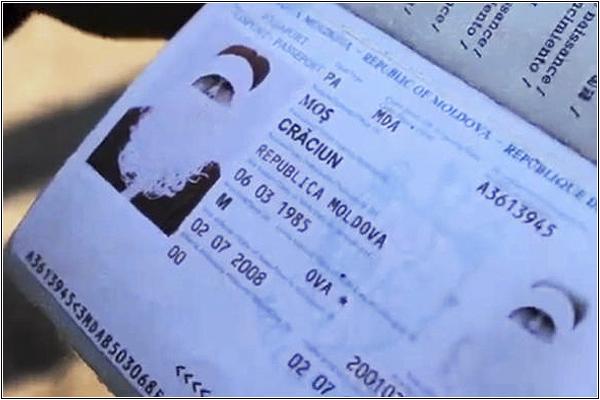 Кто въехал в Молдавию под именем доброго дедушки Крэчуна?