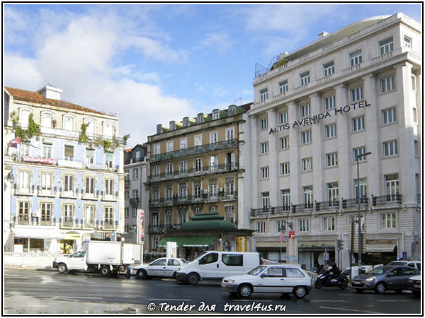 Португалия. Лиссабон. Altis Avenida Hotel.