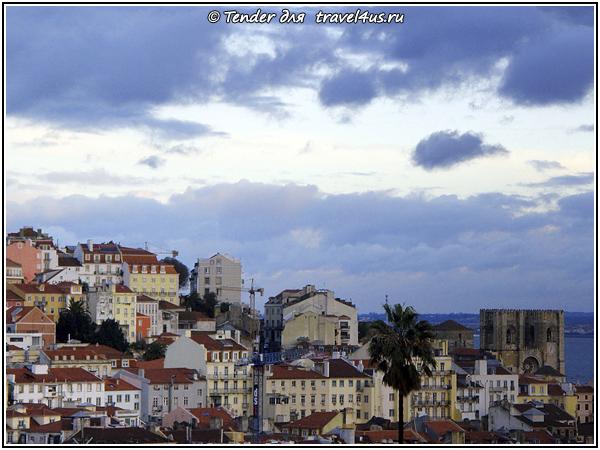 Лиссабон в сумерках