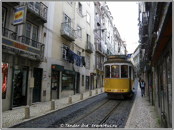 Лиссабонский трамвайчик