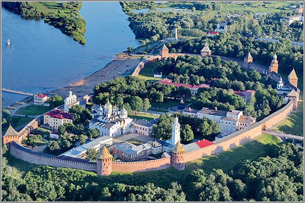 7 чудес России: Новгородский детинец (Великий Новгород)