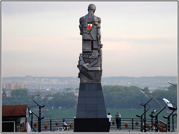 Смотровая площадка в Кемерово