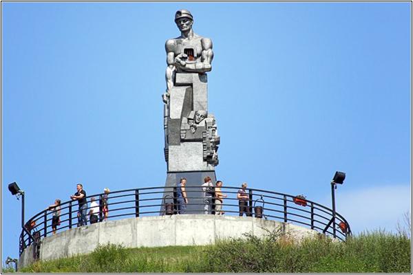 Семь чудес Кузбасса: Память шахтерам Кузбасса