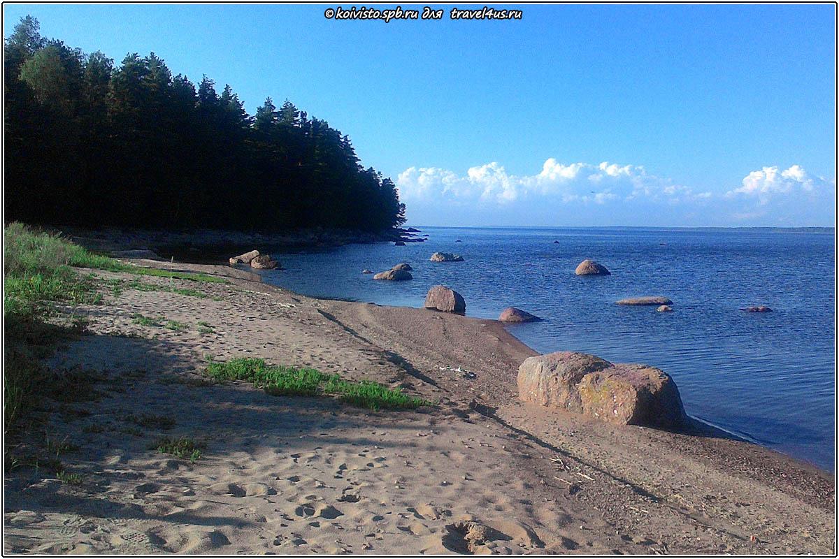 Пляж Северного Березового острова