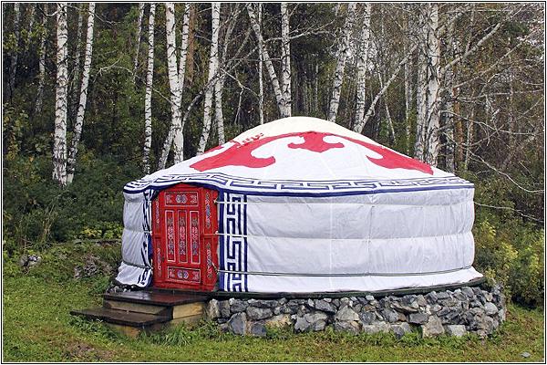 Томская писаница: Монгольская юрта