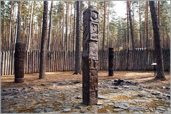 Томская писаница: Славянский мифологический лес