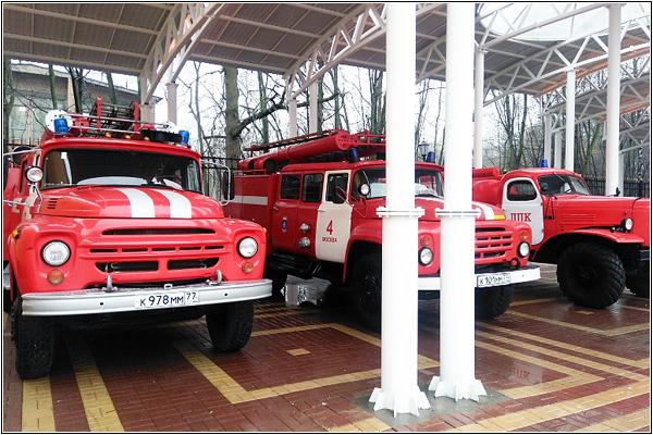 Раритетная пожарно-спасательная техника